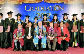 Auston Institute of Management of Ceylon and Coventry University host Second Graduation Ceremony