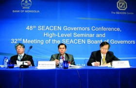Cabraal chairs high level meeting in Mongolia