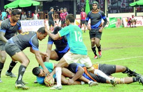 No shocks on day two at Mercantile Rugby Sevens