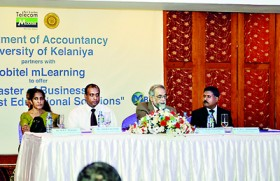 Flexible solution for bright future – University of Kelaniya offers Master of Business through mLearning