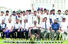 Gateway clinch U-17 cricket C.T.A Shaffter Challenge Trophy