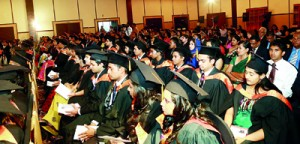 The University of Wales graduates from IIHE - 2012