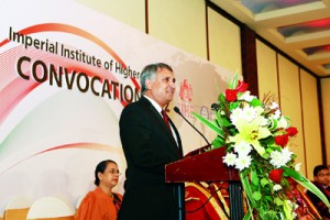 Address by the chief guest Professor Indra De Soyza Warden S.Thomas College Mount Lavinia