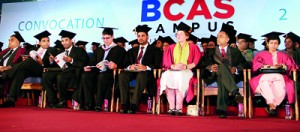Head Table Members at BCAS Convocation 2012