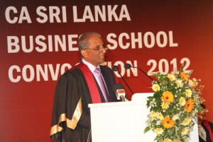 Chairman, CA  Sri Lanka Business School - Yohan Perera