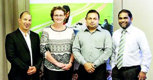 Daniel Sprague, Sonya Boylan, Jamal Qureshi & David Samuel at the PEC Roadshow 2012