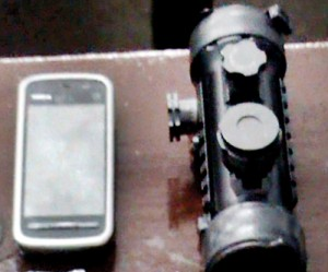 A night vision camera