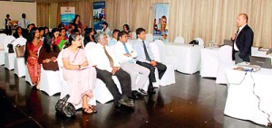 PEC conducts agent information session in Sri Lanka