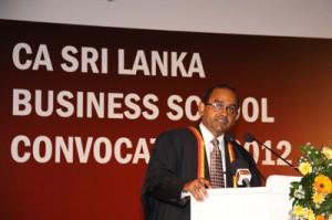 President - CA Sri Lanka, Sujeewa Rajapakse