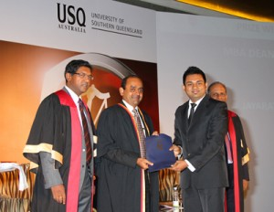 Recipient of the USQ Australia, Dean's Award  - S. Jayaratna