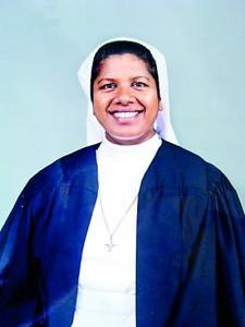Present Principal Rev.Sr.Disna Siyaguna