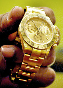 Nishantha says he got millions, wrist watch as gifts from sons