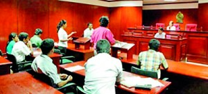 moot court