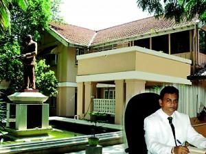 D.M.D. DISSANAYAKE, Principal of  D.S. Senanayake College Colombo 07