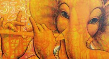 Under the gaze of Ganesh