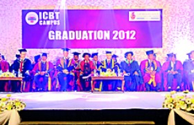Cardiff Metropolitan University & ICBT Campus holds Graduation Ceremony in Colombo