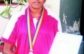 Ashwini wins silver at Sports Festival