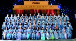 Diplomates of Graduate Diploma in Management programme.