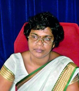 The  Principal Mrs D.C. Damayanthy