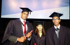 Students of Oxford College of Business attend the Heriot Watt University Graduation in Malaysia