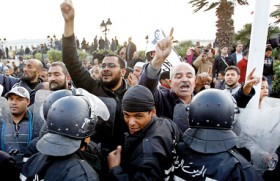 The Arab Spring's crowd psychology