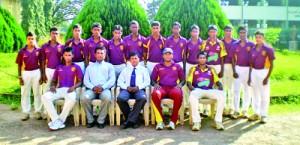 The College Cricket Team