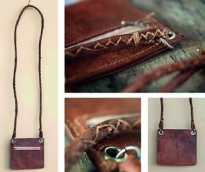 Fish skin purses by Jenny