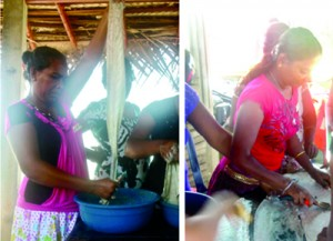 Negambo's fishing community implementing Jenny's craft for a new livelihood
