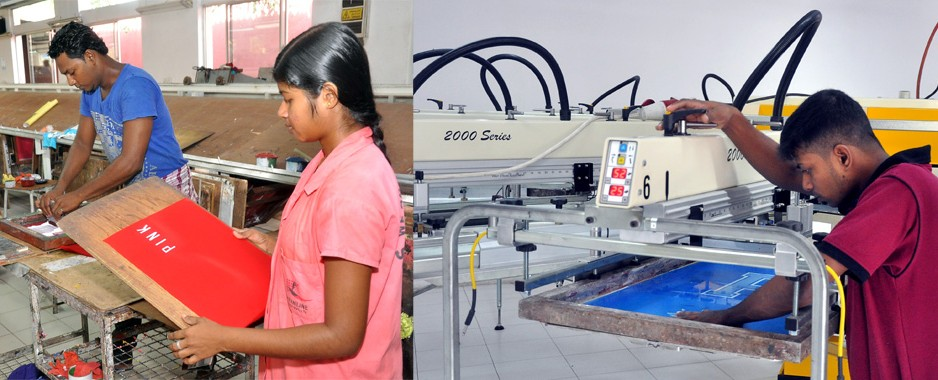 Sri lankan screen printing firm plans overseas expansion