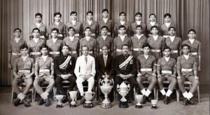 1978 Nalanda College Senior Cadet Platoon