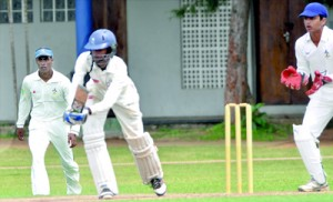 S. Thomas' hosted Richmond College Galle in the third term, an Under-19 schools cricket match outside the tournament conducted by SLSCA. - Pic by Ranjith Perera