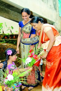 The Principal Welcomed by a Primary Student