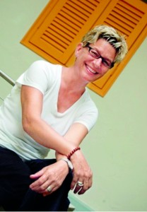Above- Academic Director and Associate Professor Julie Ross -the driving force behind Raffles Institute of Higher Education Colombo