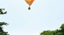 Fly high in a balloon this festive season