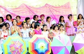 A colourful event from Kuda Kusum Balika M.V.Bandarawela