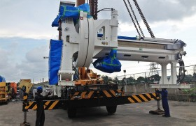 Logiventures delivers giant Tunnel Boring Machines to Uma Oya