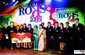 "Stafford Laurelled at the ""Marketing Rocks 2012"""