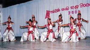 Performance of the College Dancing Group