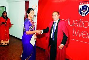 Shehani Niranga was awarded the Most Outstanding Student-Enrolled Nursing