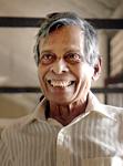 Grateful: The patient Mr. Alahakoone