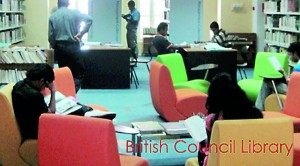 British Council Libraray by a-design studio
