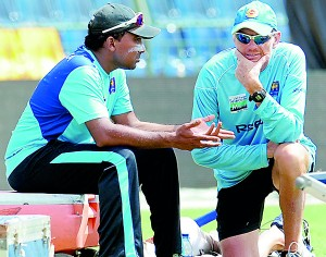 Coach Graham Ford and skipper Mahela Jayawardene have a lot of planning to do to save Sri Lanka's face in Hobart.