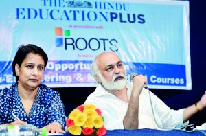 Seminar on Opportunities in Non- Engineering and Non-Medical Courses organised by The Hindu Education plus in association with Roots Education Group