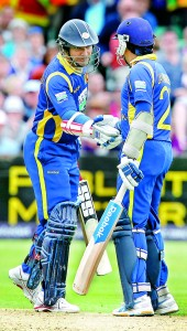 It was a good inning chum, but we have to keep batting for some time more, said Sangakkara to Mahela.