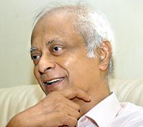 Prof. Harendra de Silva.  Pic by Nilan Maligaspe