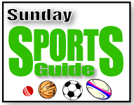 Sunday Sports Guide