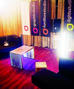 a-design studio at its recent launch at SLDF