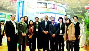 Seen here are Sri Lankan Tour Operators with Embassy Representatives