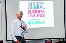 CIMA Sri Lanka Head Radley Stephans visits APIIT