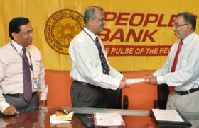 People's Bank signs an agreement with the PWC